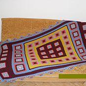 """Для дома и интерьера ручной работы. Ярмарка Мастеров - ручная работа Плед  """"Африка"""". Handmade."""