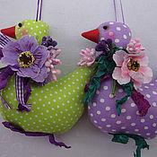 Куклы и игрушки ручной работы. Ярмарка Мастеров - ручная работа Пасхальные Гуси. Handmade.