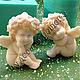 Материалы для косметики ручной работы. Милый ангел 1 3D, объемная силиконовая форма. Формы для мыла 'Чудеса в решете'. Интернет-магазин Ярмарка Мастеров.