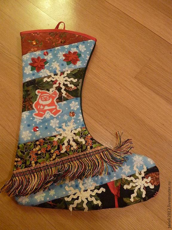Сапожки для подарков на Новый год