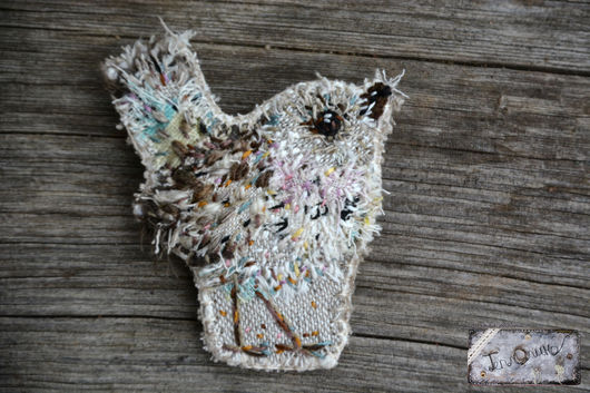 """Броши ручной работы. Ярмарка Мастеров - ручная работа. Купить Текстильная бохо брошь """"Птичка"""". Handmade. Птица, бохо"""