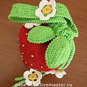 Работы для детей, ручной работы. Ярмарка Мастеров - ручная работа сумочка КЛУБНИчКА. Handmade.