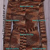 """Одежда ручной работы. Ярмарка Мастеров - ручная работа Жакет """"Шоколадная карамель"""". Handmade."""