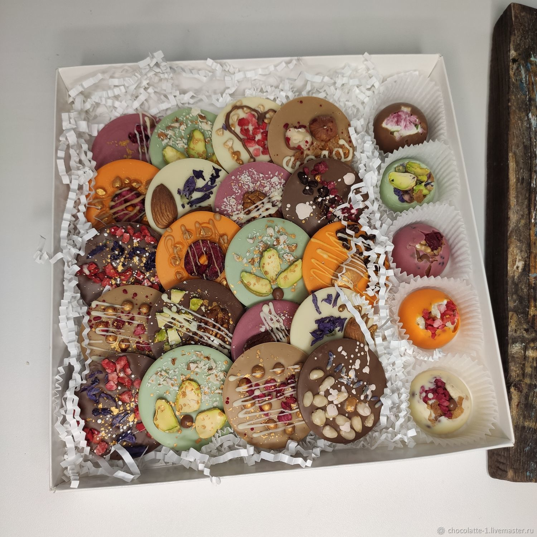 шоколадные медианты, Шокобоксы, Москва,  Фото №1