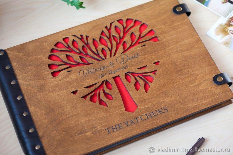Альбом из дерева, Фотоальбом ручной работы, Фотоальбомы, Новосибирск,  Фото №1
