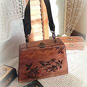 Сумки и аксессуары handmade. Livemaster - original item Bag wooden. Handmade.