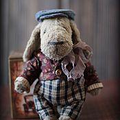 Куклы и игрушки ручной работы. Ярмарка Мастеров - ручная работа Тедди Пес маленький. Handmade.