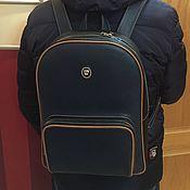 Сумки и аксессуары handmade. Livemaster - original item Calf leather Backpack. Handmade.