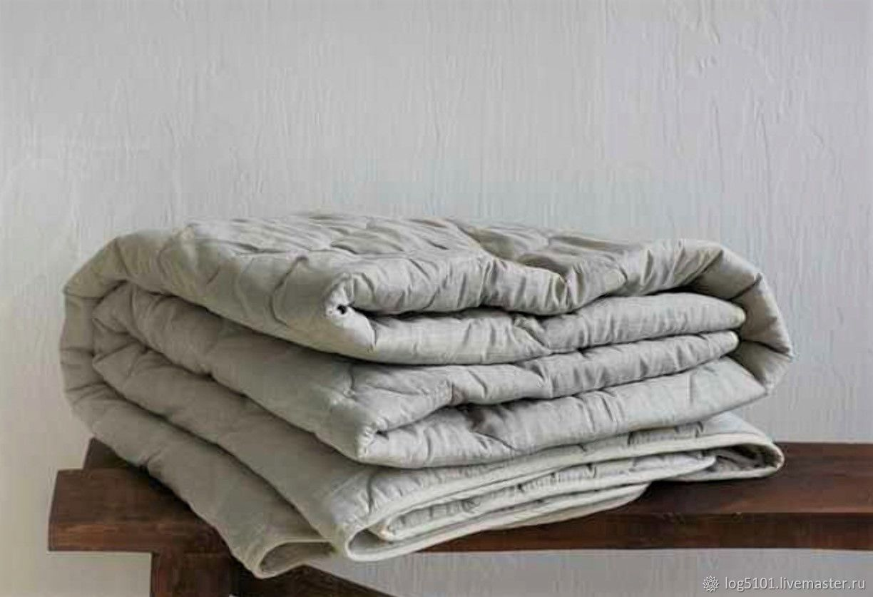 Baby LINEN blanket for sweet dreams-Natural blanket, Linen in the crib, Moscow,  Фото №1