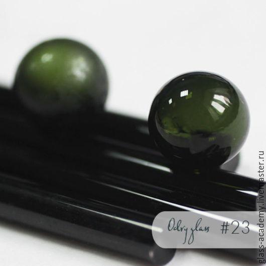 Для украшений ручной работы. Ярмарка Мастеров - ручная работа. Купить стекло #23 - Nettle (Крапива)  для lampwork Odry glass coe 104. Handmade.