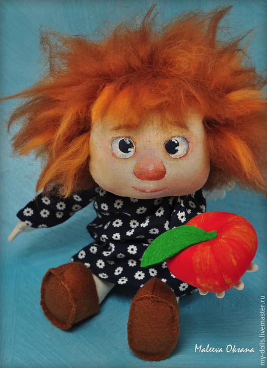 Сказочные персонажи ручной работы. Ярмарка Мастеров - ручная работа. Купить Кукла по картине Галины Чувиляевой. Handmade. Тёмно-синий