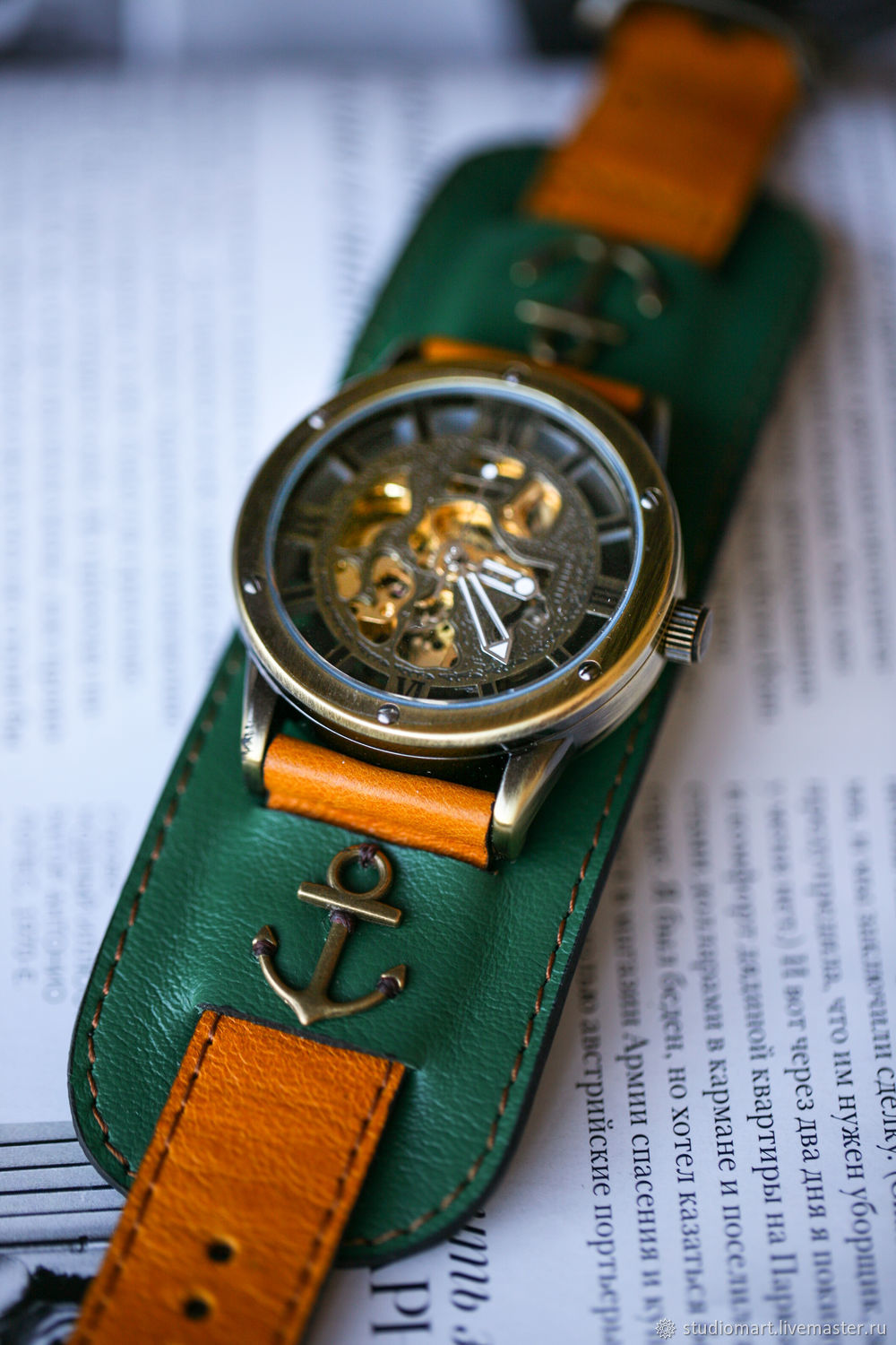 Anchor Green wrist watch, Watches, St. Petersburg,  Фото №1
