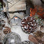Цветы и флористика handmade. Livemaster - original item Apple, warmed in the winter. Interior arrangement. Handmade.