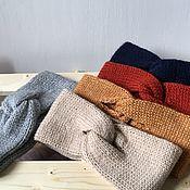 Аксессуары handmade. Livemaster - original item Knitted headbands