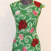 """Одежда ручной работы. Ярмарка Мастеров - ручная работа Летнее платье """"Букет роз"""". Handmade."""