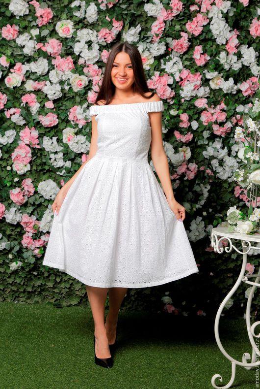 нежное  очаровательное летнее платье с пышной юбкой и горизонтальной широкой резинкой подчеркивают изящество фигуры платье в отпуск сарафан пляжный платье на лето платье коктейльное