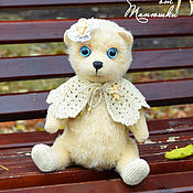 Куклы и игрушки ручной работы. Ярмарка Мастеров - ручная работа мишка Тася. Handmade.