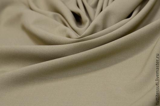 Шитье ручной работы. Ярмарка Мастеров - ручная работа. Купить Плательная ткань-рогожка. Handmade. Бежевый, вискоза, ткани из италии