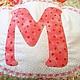 Персональные подарки ручной работы. Декоративная подушка корона с монограммой. Family Tree Quilt  Семейное Древо. Ярмарка Мастеров. Думочка