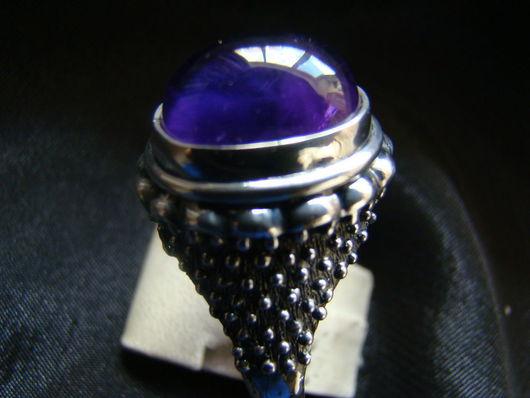 """Кольца ручной работы. Ярмарка Мастеров - ручная работа. Купить Кольцо """"Тадж-Махал"""" ( малый). Handmade. Фиолетовый, аметист"""