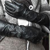 Аксессуары ручной работы. Ярмарка Мастеров - ручная работа Женские перчатки. Авторская работа. Для милых ДАМ. Handmade.