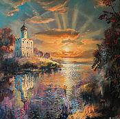 Картины и панно handmade. Livemaster - original item Oil painting Solar Symphony. Handmade.