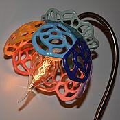 """Для дома и интерьера ручной работы. Ярмарка Мастеров - ручная работа """"Цветик-восьмицветик"""" настольная лампа. Handmade."""