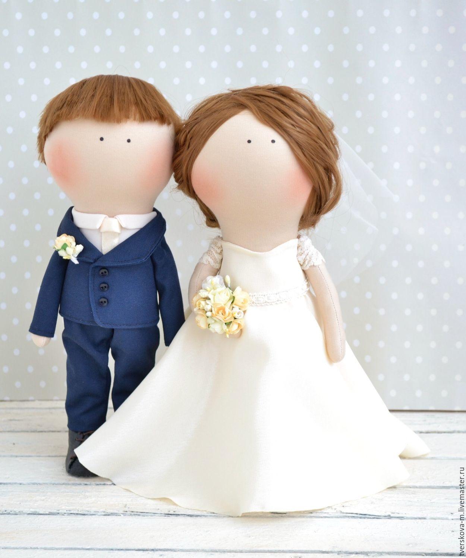 Своими руками невеста и жених кукла сшить 84