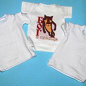 Одежда handmade. Livemaster - original item Mini t-shirts.. Handmade.