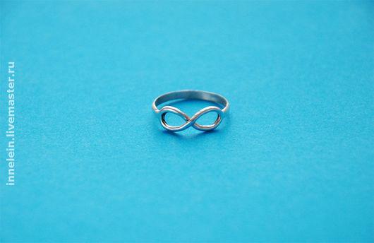 """Кольца ручной работы. Ярмарка Мастеров - ручная работа. Купить Серебряное кольцо """"Бесконечность 2"""" (Infinity 2). Handmade. Бесконечность"""