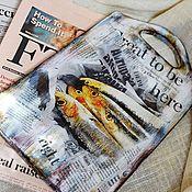 """Для дома и интерьера ручной работы. Ярмарка Мастеров - ручная работа Доска разделочная """"Селедки"""". Handmade."""