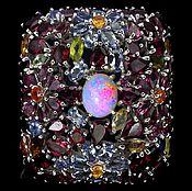 Украшения ручной работы. Ярмарка Мастеров - ручная работа Кольцо с натуральными камнями ( 2 ). Handmade.