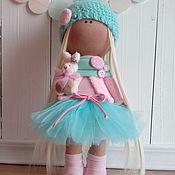 Куклы и игрушки ручной работы. Ярмарка Мастеров - ручная работа Интерьерная текстильная кукла большеножка Милана. Handmade.