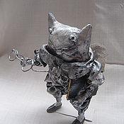 """Куклы и игрушки ручной работы. Ярмарка Мастеров - ручная работа Кукла-сувенир """"Кот-ангел"""". Handmade."""