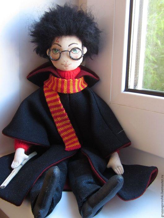 Коллекционные куклы ручной работы. Ярмарка Мастеров - ручная работа. Купить Авторская кукла Гарри Поттер. Handmade. Гарри Поттер
