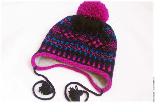 """Шапки и шарфы ручной работы. Ярмарка Мастеров - ручная работа. Купить Комплект (шапка+манишка+варежки) """"Mix"""". Handmade. Комбинированный, зимняя мода"""