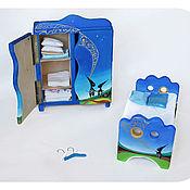 """Куклы и игрушки ручной работы. Ярмарка Мастеров - ручная работа Мебель для кукол """"Ночь, когда сбываются мечты"""". Handmade."""