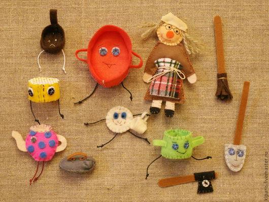 Сказочные персонажи ручной работы. Ярмарка Мастеров - ручная работа. Купить Федорино горе ( сказки для детей). Handmade.