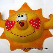 Куклы и игрушки ручной работы. Ярмарка Мастеров - ручная работа солнце. Handmade.