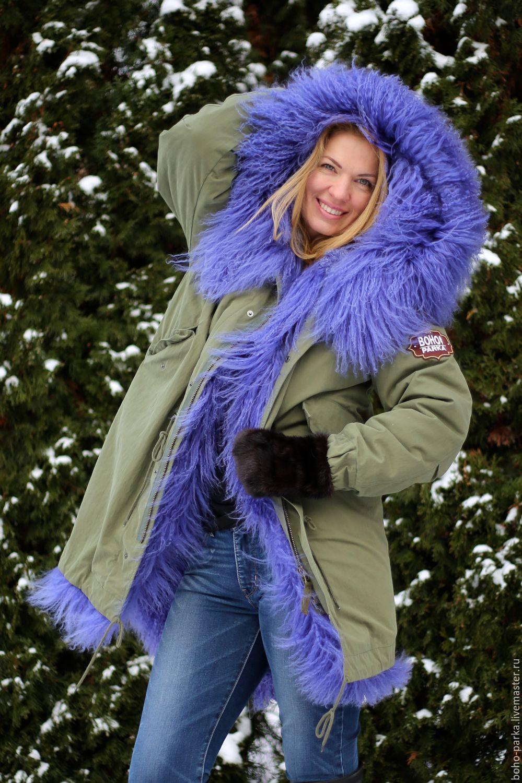Jacket parka, fur lined, Parkas jacket, Zelenograd,  Фото №1