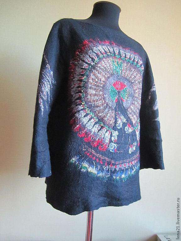 Черный свитер блузон, Свитеры, Раменское,  Фото №1