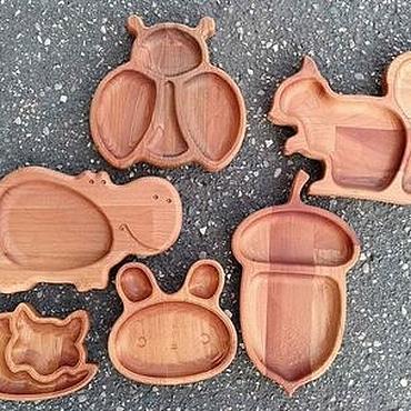 Works for children handmade. Livemaster - original item Children`s wooden utensils. Handmade.