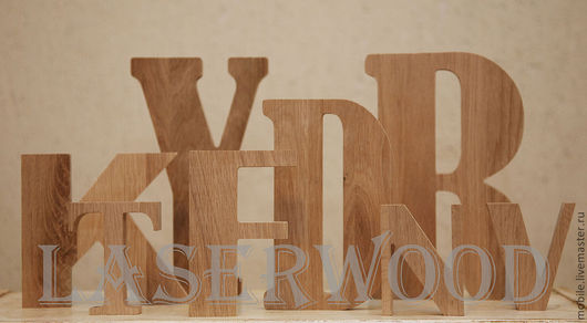 Интерьерные слова ручной работы. Ярмарка Мастеров - ручная работа. Купить Буквы из дерева. Handmade. Буквы из дерева, буквы