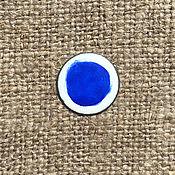 Материалы для творчества handmade. Livemaster - original item Ferro Sunshine overglaze paint No. №121232 azure-blue. Handmade.