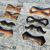 Материалы для творчества ручной работы. Ярмарка Мастеров - ручная работа Заготовка для галстук-бабочки из дерева. Handmade.