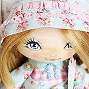 Куклы и игрушки ручной работы. Ярмарка Мастеров - ручная работа Текстильная авторская кукла Мирабель. Handmade.