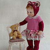 Куклы и игрушки ручной работы. Ярмарка Мастеров - ручная работа Тедди-долл Маняша. Handmade.