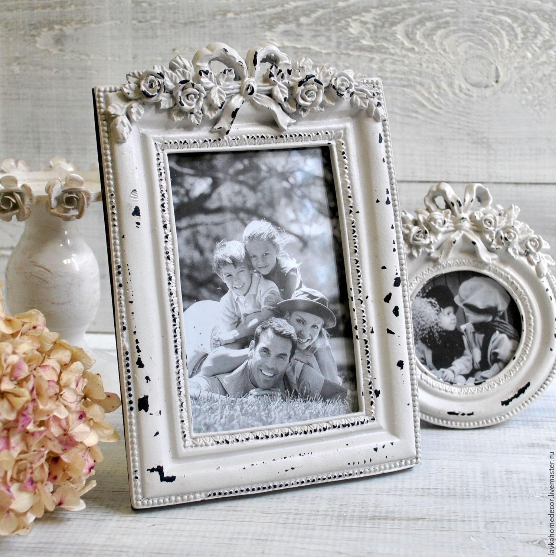 связи праздничными черно белое фото в винтажной рамке возникло желание изготовить