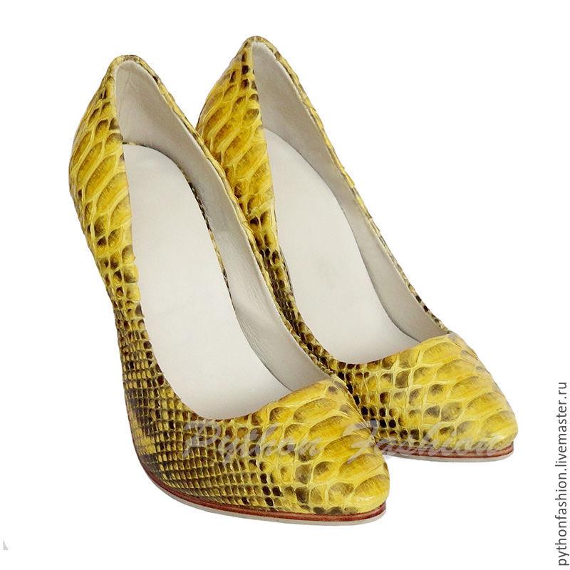Туфли из кожи питона CRYSTAL – купить в интернет-магазине на Ярмарке ... e014f1bcb9f