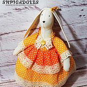 Куклы и игрушки ручной работы. Ярмарка Мастеров - ручная работа Тильда Солнечная Зайка. Handmade.